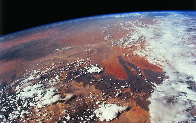 上帝视角:卫星航拍全球美景